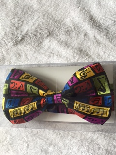 MUSIC NOTES  BOWTIE