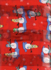 Snowmen Scarves (Red)
