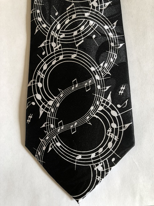 SWIRLING NOTES (BLACK)